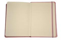 Open diary Stock Image