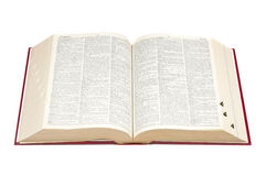 Open dictionary Stock Images
