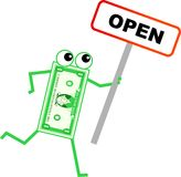 Open dollar Stock Images
