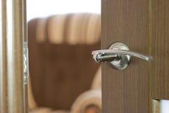 Open door. The open door abstract background Royalty Free Stock Images