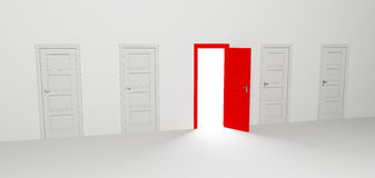 Open door Stock Photography