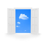Open door. Stock Photo