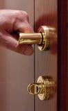 Open the door. Stock Photo