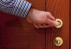 Open the door. Royalty Free Stock Images