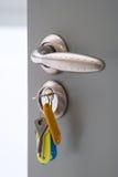 Open door Stock Images