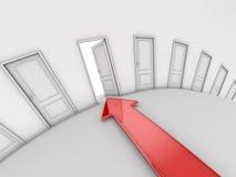 The Open Door Stock Image