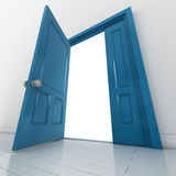 Open the door Stock Images