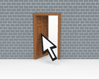 The open door Royalty Free Stock Image
