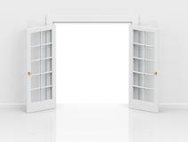 The open door Stock Photography