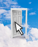 The open door Royalty Free Stock Photography