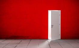 Open door in a empty room Stock Photography