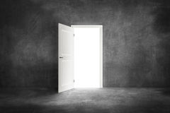 Open the door. And freedom Royalty Free Stock Photos