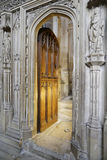 Open door. Image of open door taken in st albans abbey, England Royalty Free Stock Photo