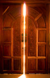 Open the door light Stock Photography
