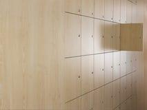 Open Door In Locker Room Royalty Free Stock Photos