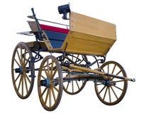 Open door paarden getrokken vervoer lage positie Royalty-vrije Stock Foto's