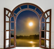 Open door Quarter Royalty Free Stock Photo