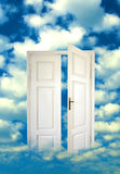 Open door in the sky Royalty Free Stock Photos