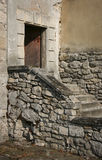 Open door and staircase Stock Photography
