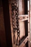 Open Door in Taj Mahal Stock Image