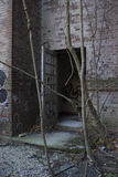 Open Door. To abandoned building Stock Photos