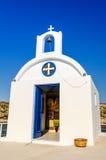 Open door to Greek temple Royalty Free Stock Images