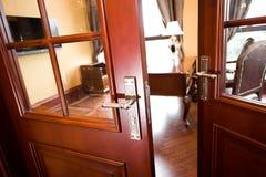 Open door to office Royalty Free Stock Image