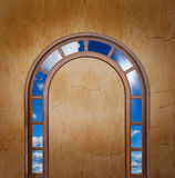 Open door to the sky Royalty Free Stock Photo