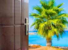 Open door to the sky Royalty Free Stock Image