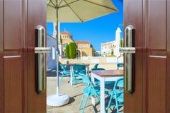 Open door to the sky Royalty Free Stock Photo