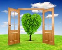 Open the door Stock Images