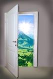 Open door Stock Photos