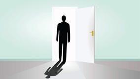 Open door Royalty Free Stock Image