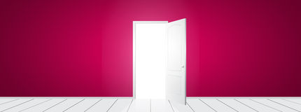 Vector open Door Royalty Free Stock Photography