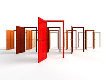Open doors Royalty Free Stock Photos
