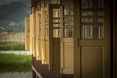 Open doors monastery Royalty Free Stock Images