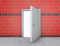 Open doors, new possibilities concept Stock Image