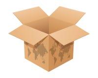 Open doos vector illustratie