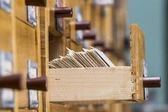 Open doos in het archief stock foto