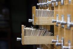 Open doos twee in het archief royalty-vrije stock fotografie