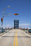 Open drawbridge Stock Images
