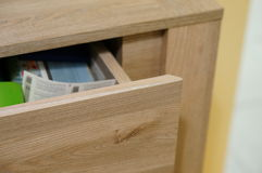 Open drawer Royalty Free Stock Images