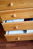 Open drawers Royalty Free Stock Photography