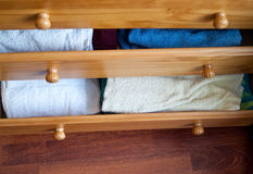 Open drawers Stock Photography
