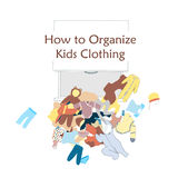 Open Dresser Drawer and messy kids clothing on the floor. Vector illustration about clothing organizing Stock Photos