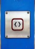 Open Drukknop royalty-vrije stock afbeelding