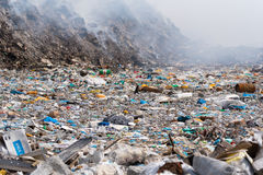 Open dumping site Royalty Free Stock Photography