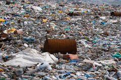 Open dumping site Stock Images