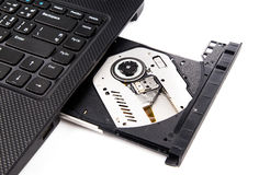 Open DVD drive Stock Photos