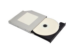 Open dvd rom Royalty Free Stock Photos